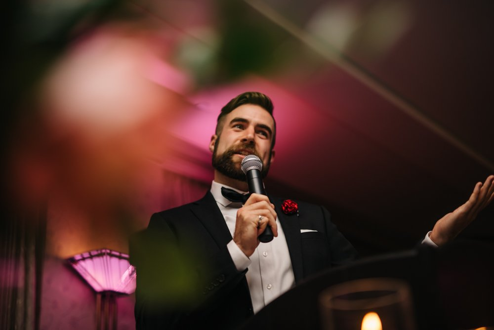 speeches at wedding in Banff