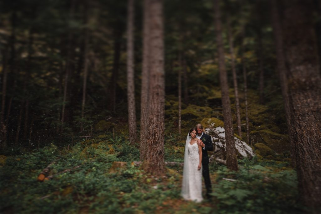 Couple in Squamish bc that got married in Vancouver BC